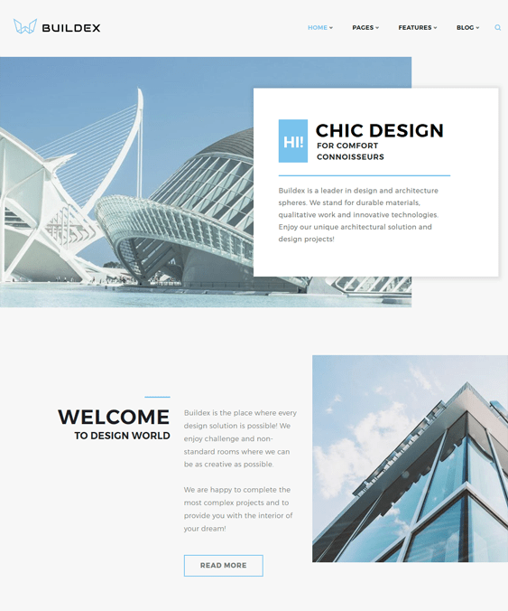 buildex architect architecture firm wordpress themes