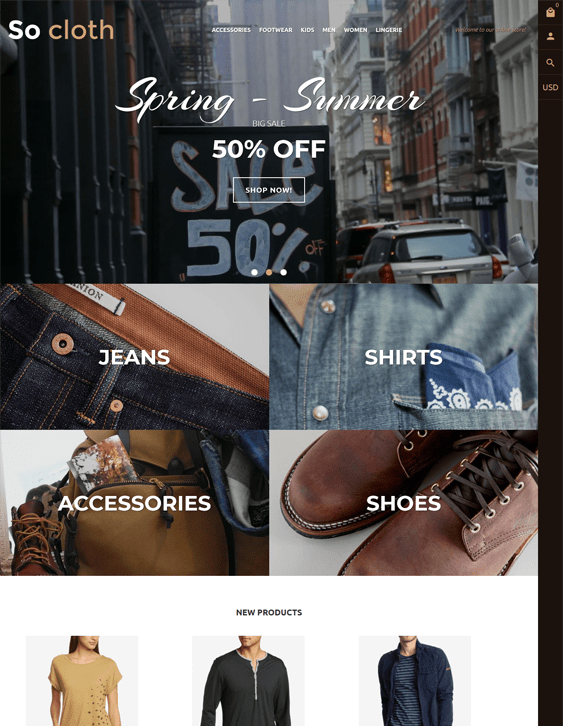 fashion shopify themes clothing stores