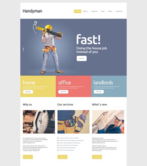 Handyman Services Joomla Template