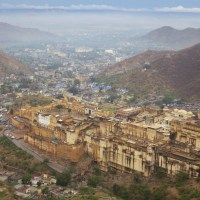 Overlooking the Cities of Pink and Blue: Jaipur and Jodhpur