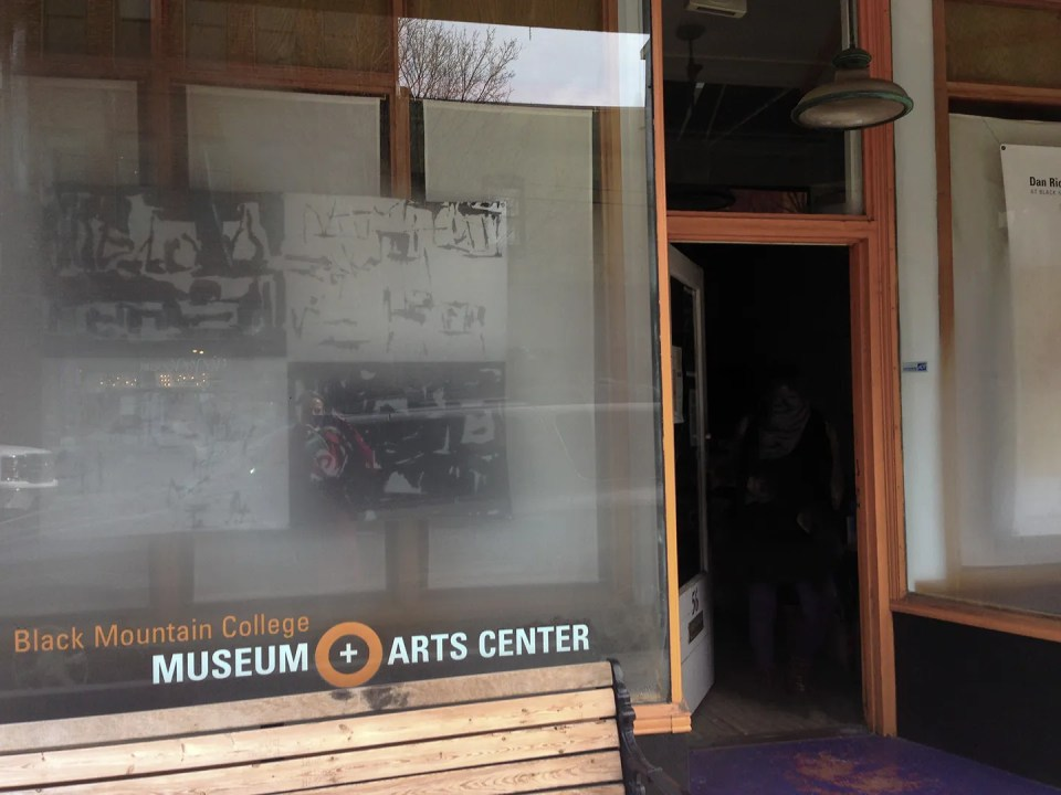 Black Mountain College Museum + Arts Center. Exterior View. Photo: Dawn Roe