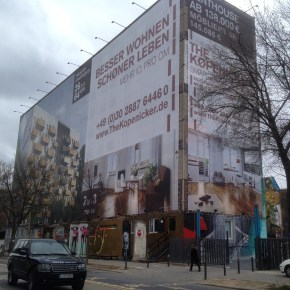 Conversion of abandoned building in central Berlin into luxury apartments. Photo: Ryan Thayer