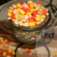 {PAY DAY} Candy Corn and Peanuts Snack Mix