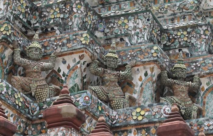 Wat Arun, Dettaglio