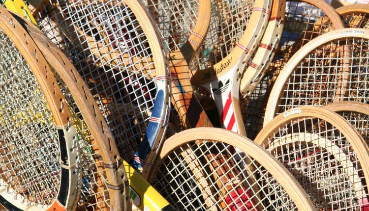 How tennis rackets have evolved