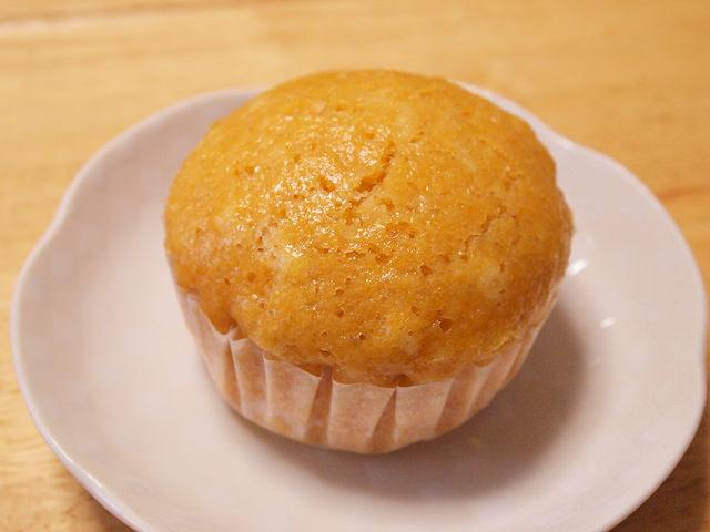 キャロットアップル蒸しパン