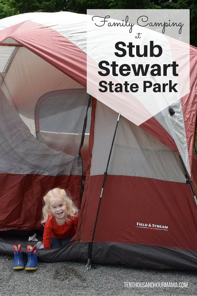 Family camping at Stub Stewart State Park, less than an hour outside Portland, Oregon, is great for families new to pitching a tent with kids. Ten Thousand Hour Mama
