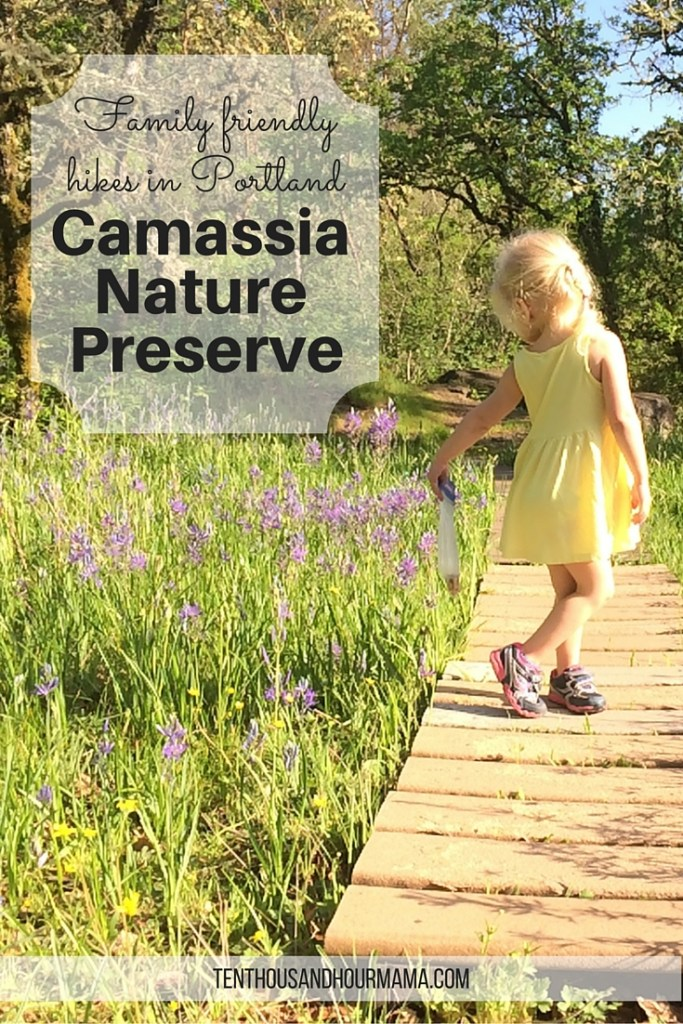 Camassia Nature Preserve lets kids and families explore nature (and wildflowers!) minutes outside Portland, Oregon. Ten Thousand Hour Mama