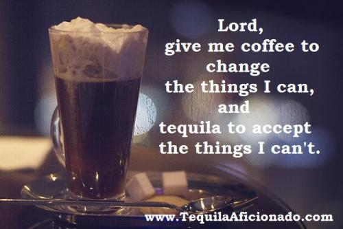 morning, coffee, tequila