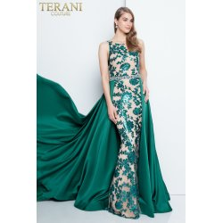 Mutable Embellished Emerald Prom Dress Prom Dresses 2018 Prom Dress Styles By Terani Couture Prom Dresses 2016 Two Piece Prom Dresses 2016 Long wedding dress Prom Dresses 2016