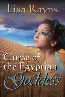 Curse of the Egyptian Goddess Book Cover