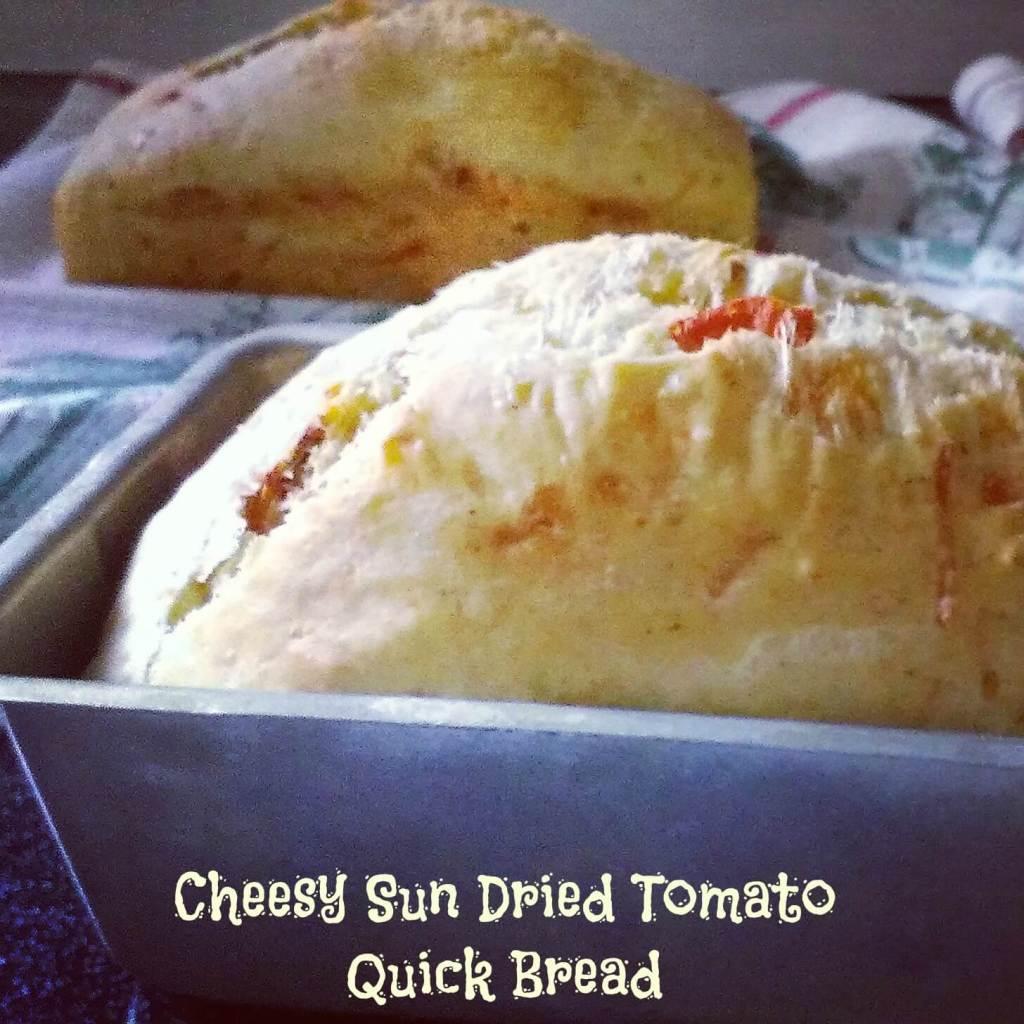 cheesy sun dried tomato bread recipe