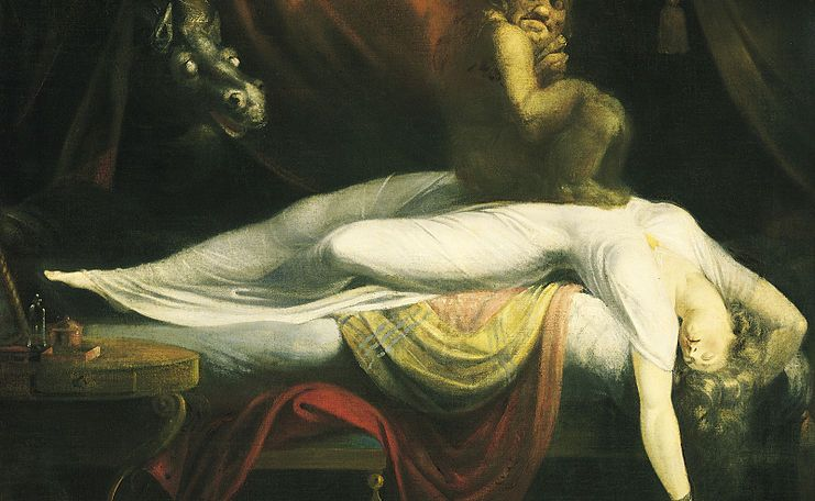 Painting by John Henry Fuseli Image in the Public Domain