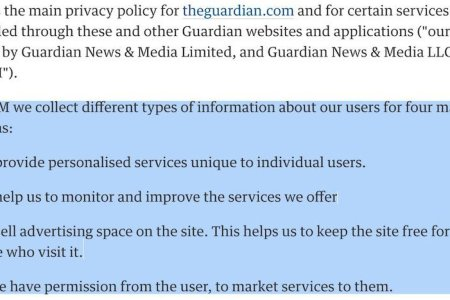 guardian privacy policy