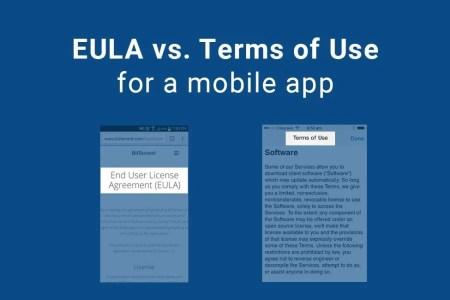 eula vs terms use mobile app