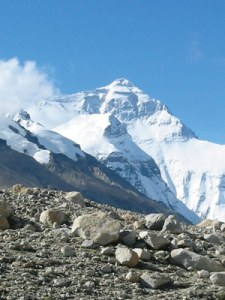 In one of the Earth's most active fault zones, OSU geoscientist John Nabelek and colleagues are defining the forces that created Mt. Everest and threaten millions of people. (Photo courtesy of John Nabelek)