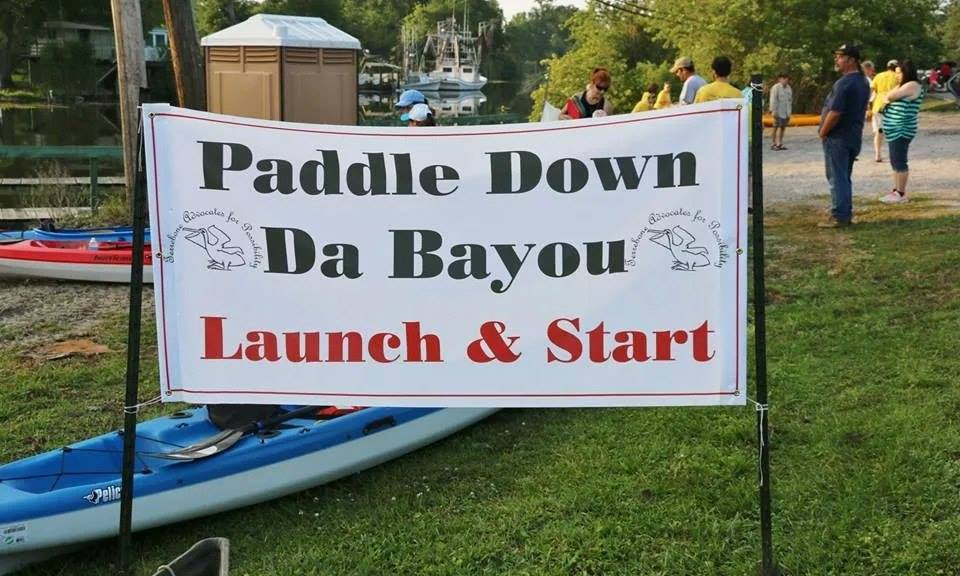 Paddle Down the Bayou