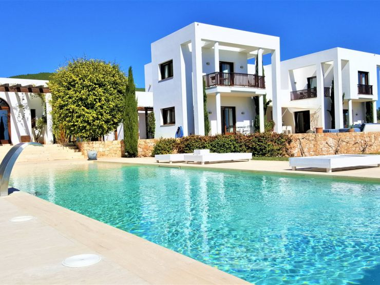 Modern Villa for Rent Feng Shui in San Carlos Ibiza