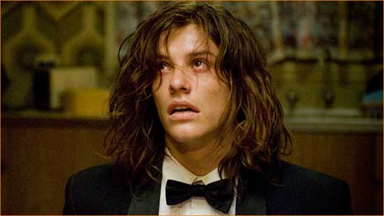 """Brent (Xavier Samuel) has the Worst. Prom Date. Ever. in """"The Loved Ones""""."""