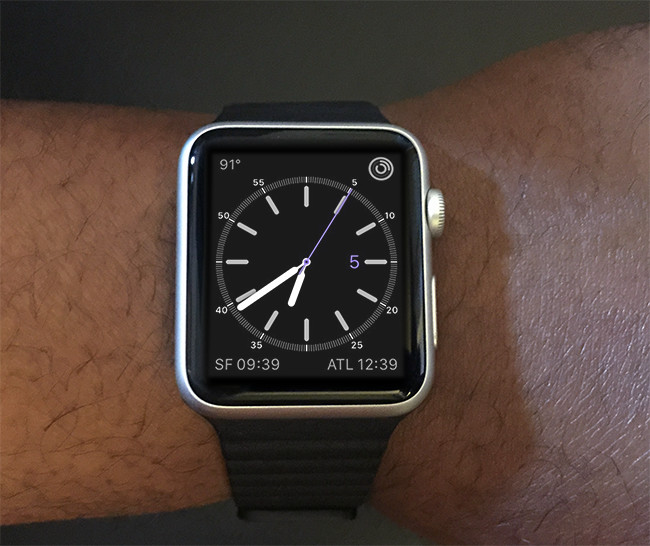 Apple Watch favorite face
