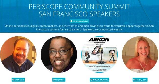 Periscope Summit Speakers
