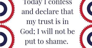 Faith Confessions