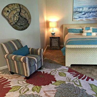 Sterling Sands Destin rental condo second master bedroom