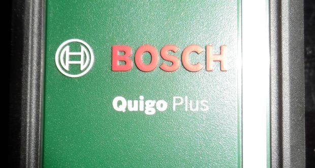 Bosch Kreuszlinienlaser Quigo Plus - Titel