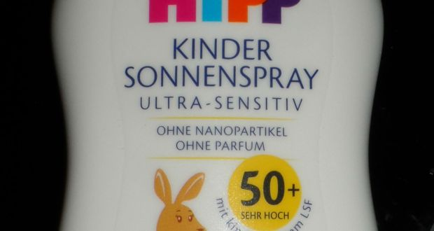 HiPP Babysanft Kinder Sonnenspray - Titel