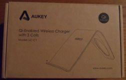 AUKEY Wireless Ladegerät Qi mit drei Spulen - Titel