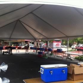 Bar Event Keder Frame Tent