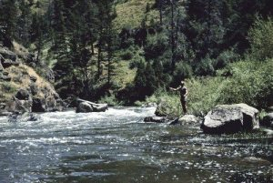 Photos of Teton River Narrows Before the Dam