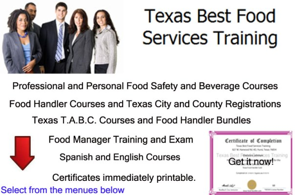 Texas Best Food Serices Training