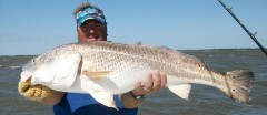 Matagorda Fishing Map