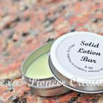 Lotion Bar in Tin watermarked