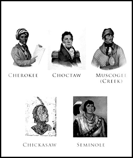 Five Civilized Tribes | Western Heritage from the Texas Trail of Fame