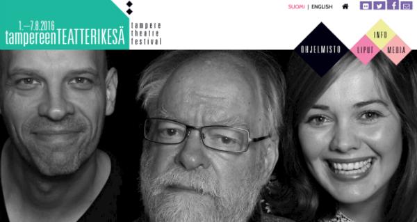 Tampereen Teatterikesä 2016