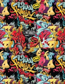 Graffiti Rhino Print by Syne68 Still Keeping It Street: The Ecko Brand and Video Selections