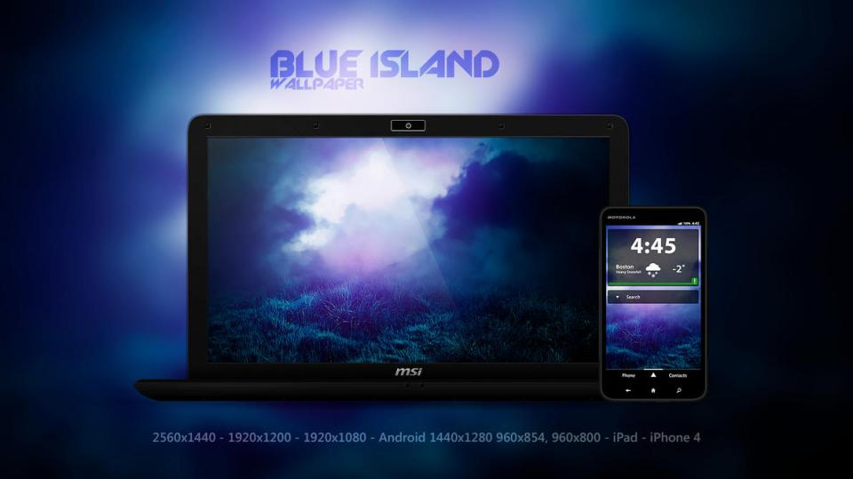 blue island wallpaper by martz90 d562a1w Blue Island | Wallpaper