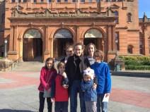 Kelvingrove museum in Glasgow.