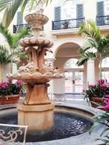Portofino Bay hotel lobby.