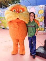 C's favorite character - the Lorax!
