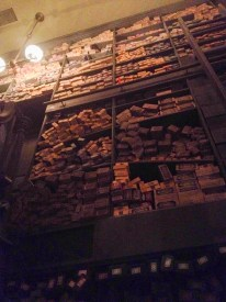 Inside the wand shop looking up!
