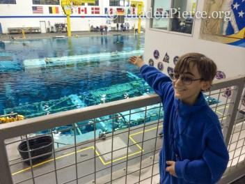 Space station underwater!
