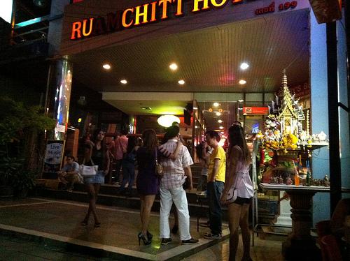 バンコクのテーメーカフェの写真