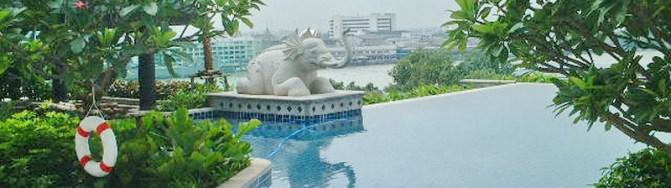 2 Bed Condo, Sathorn, Stunning Chao Phraya City View