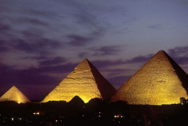 Sound and Light Show at Pyramids of Giza