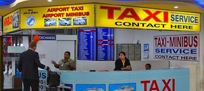 аэропорт пхукет taxi