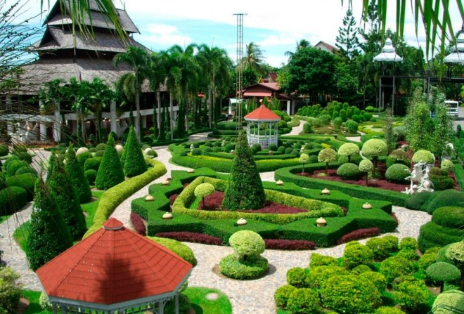 Тропический сад в Паттайе