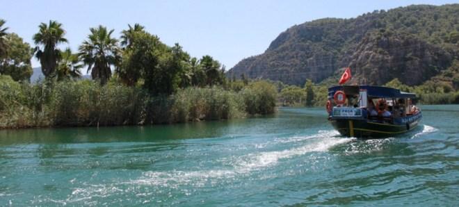 экскурсия по реке Дальян в Турции